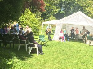 Event at forgotten garden