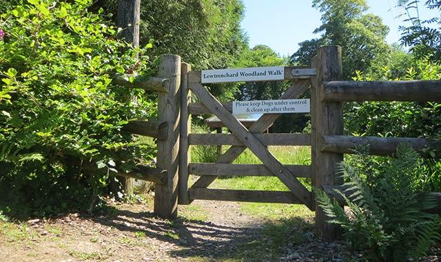 Forgotten Garden of Lewtrenchard Entrance.