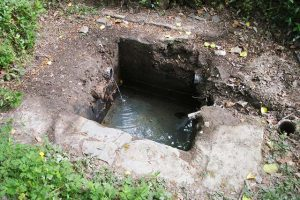 Lewtrenchard Holy Well Site Newly Excavated April 2011