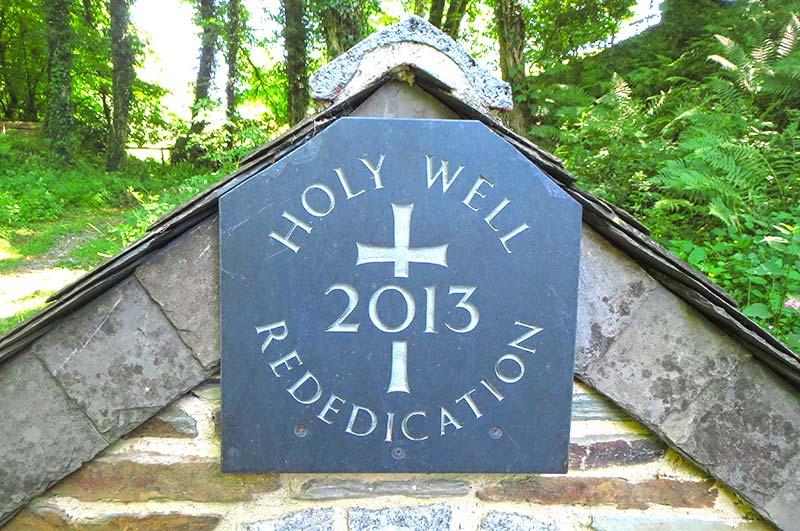 Forgotten Garden of Lewtrenchard Holy Well